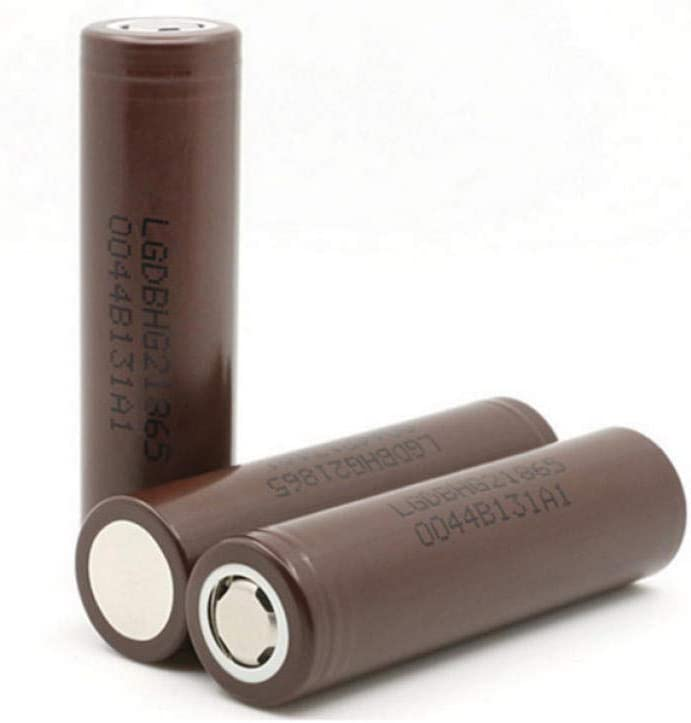 V 3,6 2X HG2 18650 3000mah bater/ía de Alta Velocidad de Letras de Alta Velocidad 20A bater/ía de alimentaci/ón de Descarga Continua Voltaje est/ándar