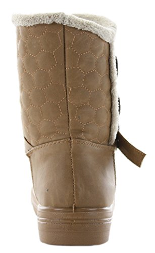 Chelsea 8 Boots Size Ankle Short Winter Flat Vintage Low Style Tan 11 Ladies Heel Pixie New Womens 3 WqpOAA8g