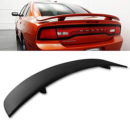 Modifystreet For 11-18 Dodge Charger Factory Style Flush Mount Rear Trunk Spoiler Wing