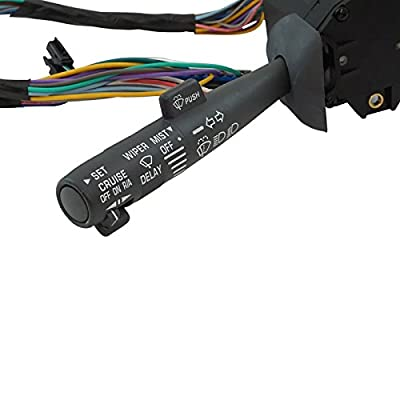 New Cruise Control Windshield Wiper Arm Turn Signal Lever Switch for Chevy GMC Truck: Automotive