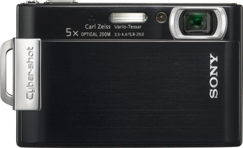 (Sony Cybershot DSC-T200 8.1MP Digital Camera with 5x Optical Zoom with Super Steady Shot Image Stabilization (Black) (OLD MODEL))