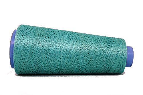 Knitsilk Silk Viscose Blend Yarn in Turquoise, (2 ply, 50 GMS) Great for embroidery, needle felting, knitting, crafts