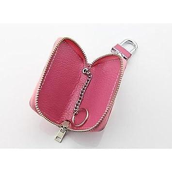 Europeas y americanas modelos caliente Lai Wen mujeres billeteras carteras hombres llave del coche bolso de cuero llaves, acné: Amazon.es: Oficina y ...