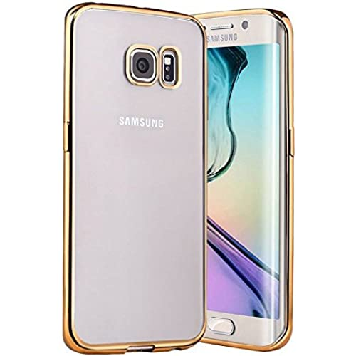 Galaxy S7 EDGE Case,Kartice Plating Crystal Clear TPU Case Transparent Ultra Thin TPU Soft Skin Silicone Protective Scratch Resistant Case for Samsung Sales