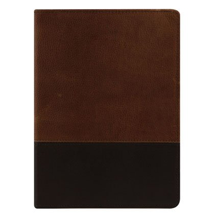 (Classic Logan Leather Open Wirebound Cover -)