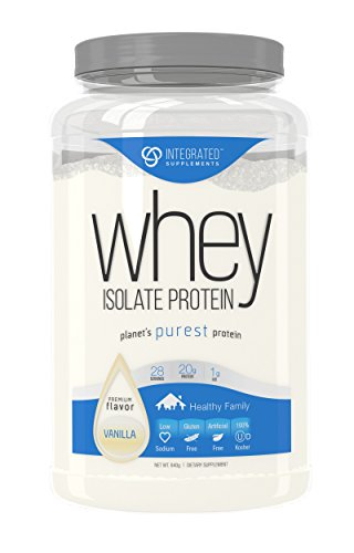 Integrated Supplements Protein Isolate Supplement product image