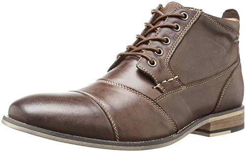 Steve Madden Men's Jabber Boot, Dark Tan, 11 M US