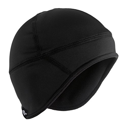 (Turtle Fur Polartec Windbloc Frost Liner Skull Cap, Black, One Size)