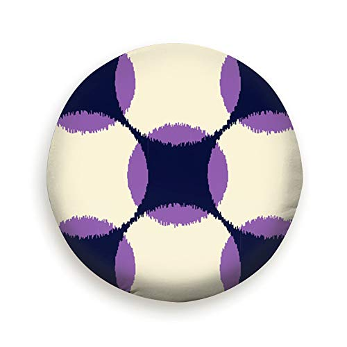 Geometric Abstract Cover with Elastic Hem-Durable Design Keeps Dirt, Rain, and Sun Away from Your Spare Tire 16 Inch