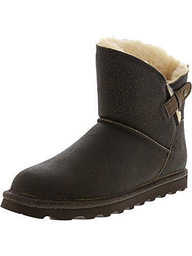 Bootie Chestnut - BEARPAW Women's Margaery Fashion Boot, Chestnut Distressed, 7 M US