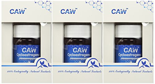 CAW Anti-Aging Supplement | Hypersorption Cycloastragenol 98% | 10mg 90enteric-Coated Capsules by CAW (Image #1)