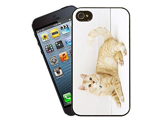 Katze 026 iPhone Fall - passen diese Abdeckung Apple Modell iPhone 5 / 5 s (nicht 5c) - von Eclipse-Geschenk-Ideen