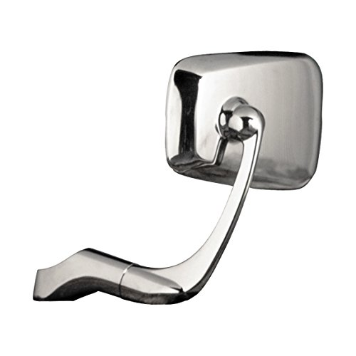 Napoleon Mirrors APT-101 Baren TT Replacement Mirror with 10mm Clockwise/Counterclockwise Bolt with Chrome Finish