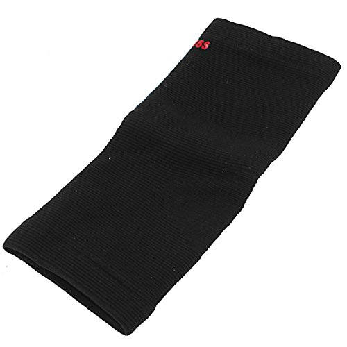 UPC 712662409274, Knitted Pullover Fitness Elastic Foot Ankle Support Brace Black