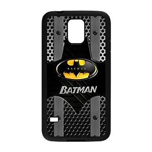 ROBIN YAM Hard Flexible Rubber Cover Case for Samsung Galaxy S5, Cool Batman Logo -KRY76