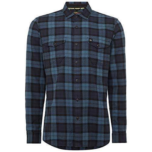 chollos oferta descuentos barato O NEILL LM Violator Camisa Franela Hombre Multicolor Black AOP M