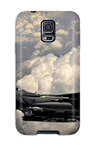 For Galaxy S5 Protector Case Jet Fighter Phone Cover