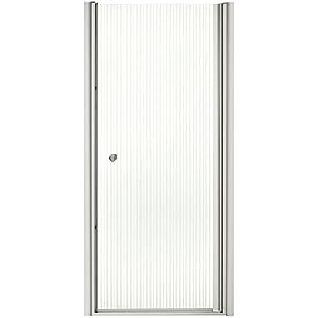 KOHLER K-702400-L-SH Fluence Frameless Pivot Shower Door