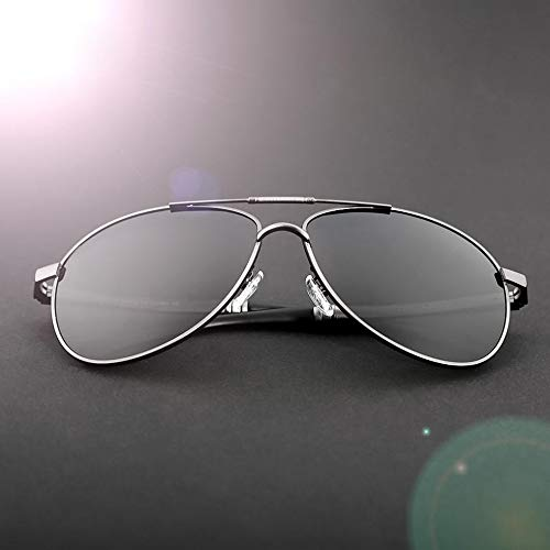 para De FKSW De Marca Sol De Gafas Gafas Gafas Conducir Hombres Sol Sol De Rojo Cuadradas Protección De Diseño Gafas Negro Silver Polarizadas Hombre Gafas a8rR8Zqpwx