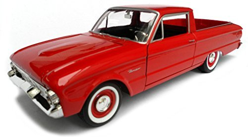 Falcon Ford Model (1960 Ford Falcon Ranchero Pickup Red 1/24 by Motormax 79321)
