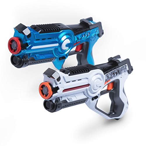 USA Toyz Laser Tag Multiplayer Games ? Space Blaster Laser Tag Gun Set, Laser Tag Guns for Girls and Boys Toys, Lazer Tag, No Vests Needed (2pk)
