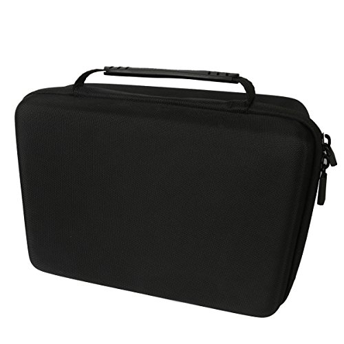 Hard Travel Case for Crenova XPE460 LED Video Home Projector by co2CREA