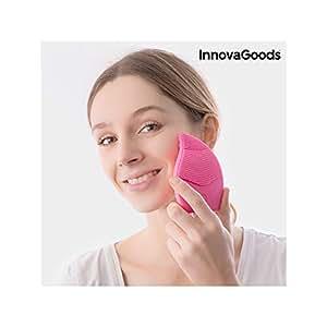 InnovaGoods Masajeador Limpiador Facial Recargable - 1 gr ...