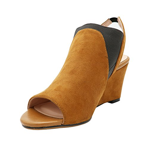 Los zapatos de plataforma de la moda del New Oxford para mujer ata para arriba el rayado Plataforma Brown Negro Bullock plana femeninos , brown , 8