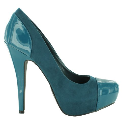 Footwear Sensation - Sandalias de vestir para mujer Turquesa - Teal