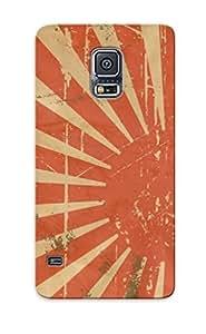 For Galaxy S5 Protective Case, High Quality For Galaxy S5 Retro Sun Skin Case Cover wangjiang maoyi