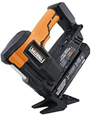 "Freeman PE4118GF Cordless 20V 4-in-1 18 Gauge 2"" Flooring Nailer & Stapler with Lithium-Ion Batteries, Case, & Fasteners"