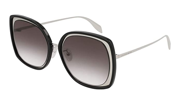 2bdccff5378c Image Unavailable. Image not available for. Color: Alexander McQueen  AM-0151 S Women Square ...