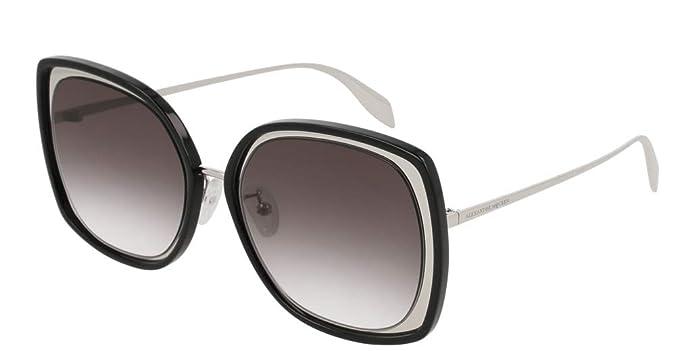 Amazon.com: Alexander McQueen AM-0151 S - Gafas de sol ...