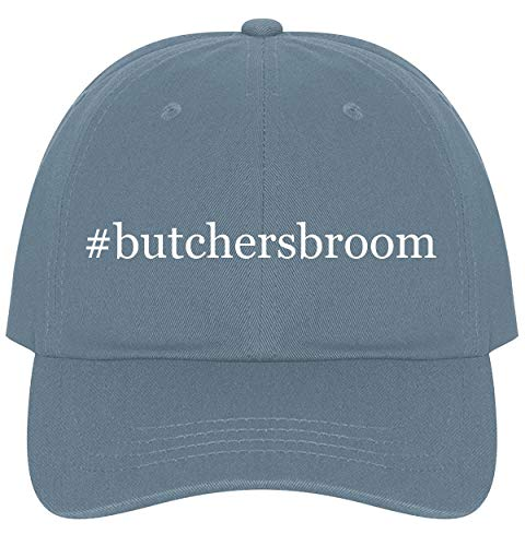 (The Town Butler #butchersbroom - A Nice Comfortable Adjustable Hashtag Dad Hat Cap, Light Blue, One Size)