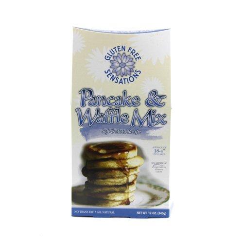 Gluten Free Sensations Pancake & Waffle Mix -- 12 oz
