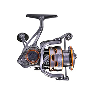 CS8 Spinning Reels, Ultralight Premium Magnesium Frame Fishing Reel with 9+1 Corrosion Resistant Bearings Smooth Powerful Fishing Reel Spinning with 19Lb Carbon Fiber Drag & 6.2:1 Gear Ratio Reels