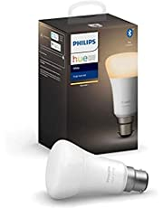 Philips Hue B22 White and Colour Ambiance Bayonet Cap (B22)Dimmable LED Smart Bulb (Latest Model, Compatible with Bluetooth, Amazon Alexa, Apple HomeKit, and Google Assistant)
