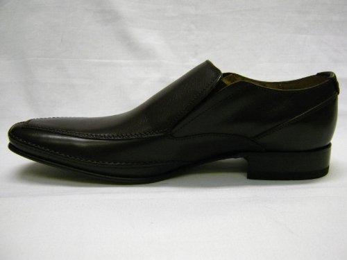 On Gummisohle und Mathewsblack passendes Braun Design F Slip Herrenschuhe Leder Loakes xqIHwO