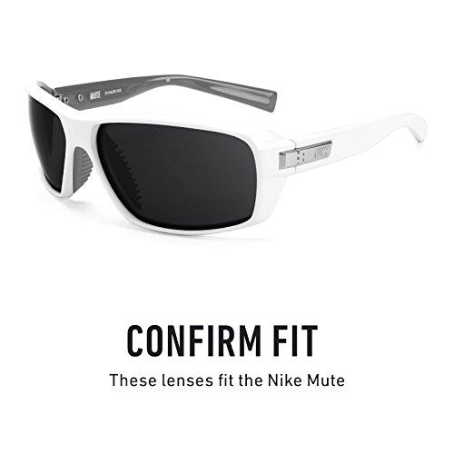 Nike repuesto Mirrorshield múltiples de Opciones Titanio Elite — Mute Lentes Polarizados para wapq5x