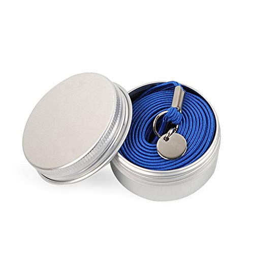 Laziness Men Shoelace No Color Women Hand Round Blue Shoelace Clever Elastic lace Buckle Casual Card VPASS Creative Sports Tie One dqUt0dx