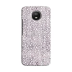 Cover It Up - Purple Pebbles Mosaic Moto G5s Hard Case