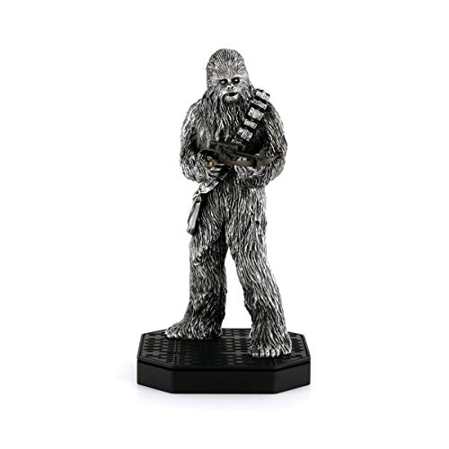 Royal Selangor Hand Finished Star Wars Collection Pewter Limited Edition Chewbacca Figurine