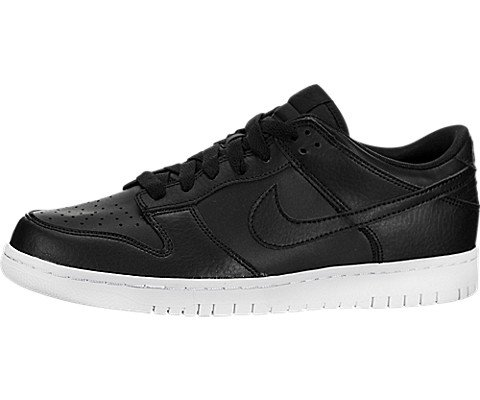 Nike Mens Dunk Low Faux Suede Lace-Up Skateboarding Shoes