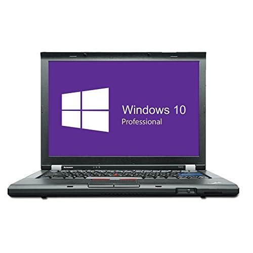 Lenovo ThinkPad T410 Notebook | 14,1 Zoll | Intel Core i5-520M @ 2,4 GHz | 4GB DDR3 RAM | 160GB HDD | DVD-Brenner | Windows 10 Pro vorinstalliert (Zertifiziert und Generalüberholt)
