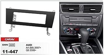 Embellecedor caravagg 11-447 DIN para Audi A4 B8 Q5