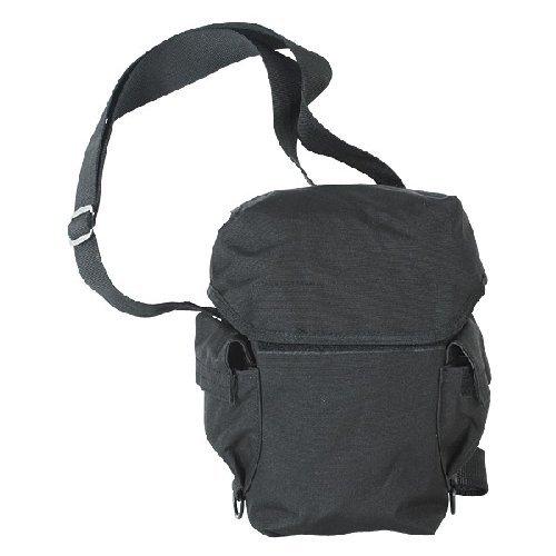VOODOO TACTICAL 20-9230001000 Deluxe Drop Leg Gas Mask Carrier, Black