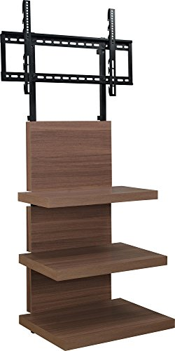 Altra Furniture Hollow Core AltraMount TV Stand with Mount for TVs Up to 60-Inch, Walnut Finish price