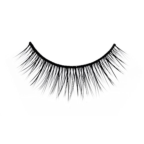 Ono Lash 203 - Faux Mink Eyelashes - Premium Natural False Eyelash Strips - Reusable Handmade Cruelty Free Crisscross Fake Eyelashes