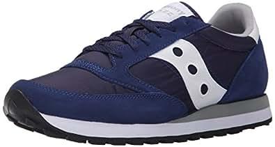Saucony Originals Men's Jazz Original Classic Retro Sneaker, Blue, 5 M US