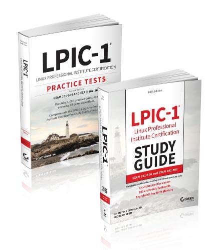 Lpic-1 Certification Kit: Exam 101-500 and Exam 102-500 por Christine Bresnahan,Richard Blum,Steve Suehring